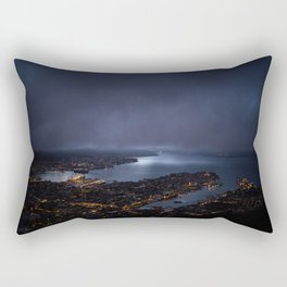 Bergen At Night Rectangular Pillow