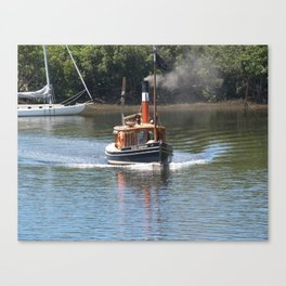 Steam Power 3 Canvas Print