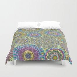 Kaleidoscopic-Jardin colorway Duvet Cover