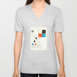 Euclidean joy Unisex V-Neck