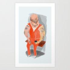 Convict Art Print