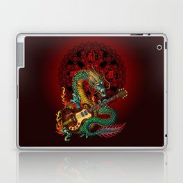 Dragon guitar 1 Laptop & iPad Skin