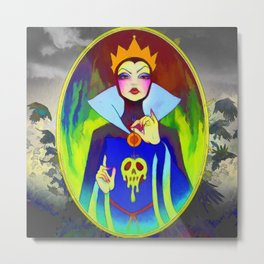 The Evil Queen Metal Print