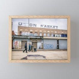 We Run These Streets Framed Mini Art Print