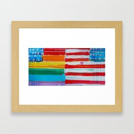 Flags for the Future 10 Framed Art Print