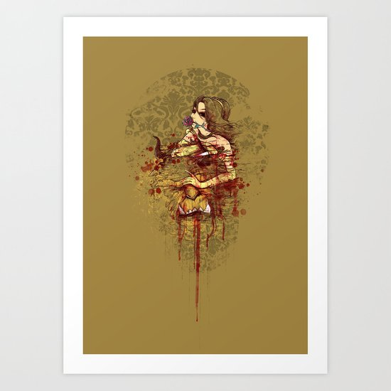 Beautiful Killer Art Print