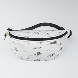 Retro Swallow Bird Nature Animal Fanny Pack