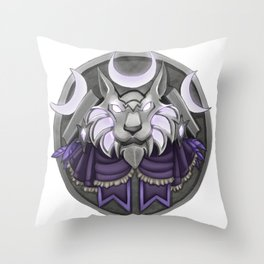 Light crest Throw Pillow