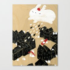 Rain of Terror Canvas Print