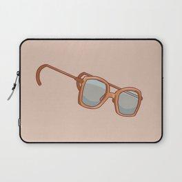 Strange Glasses Laptop Sleeve