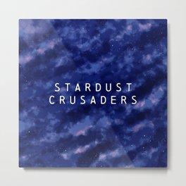 Stardust Crusaders... Metal Print
