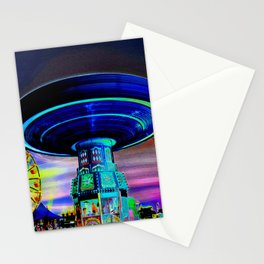 A night at the carnival Stationery Cards