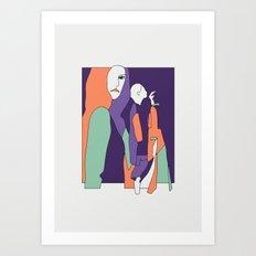 Désillusion 7 Art Print