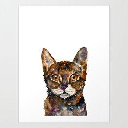CAT#8 Art Print