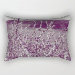 purple grass Rectangular Pillow