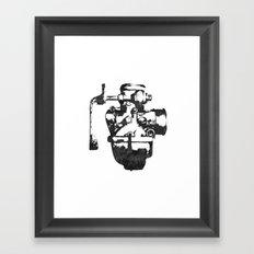 Lost carburetor #1 Framed Art Print