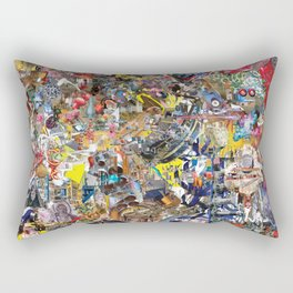 BQ2127 - Rocket Deception Rectangular Pillow