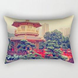 Hong Kong Oasis Rectangular Pillow
