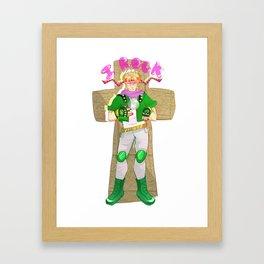 Caesar Zeppeli Rocks!!!1!! Framed Art Print