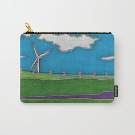 Windmill by Mali Vargas Carry-All Pouch