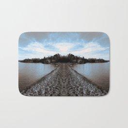 Art Print 1 Lake Superior Mirror 2 [Jordan E. Eismont, Cecilia Lee] Bath Mat