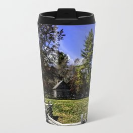 Fenced In Beauty in Virginia Travel Mug