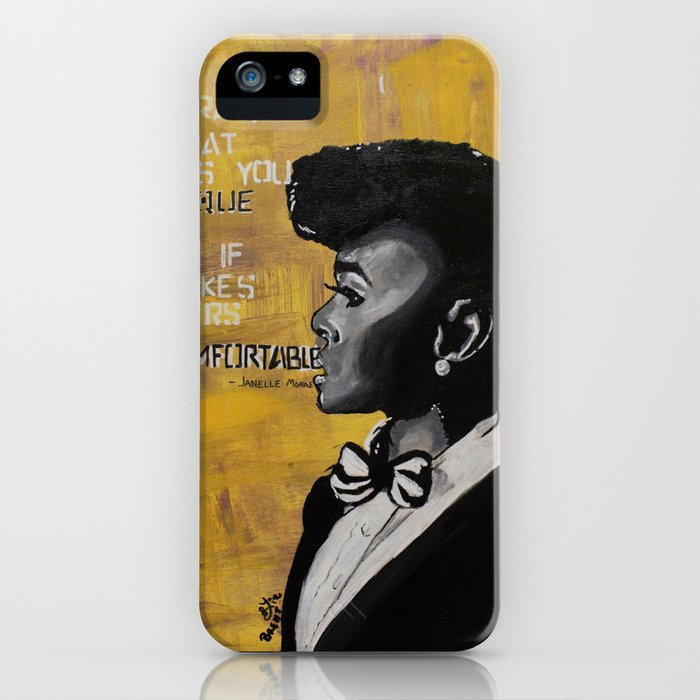 Monae iPhone Case