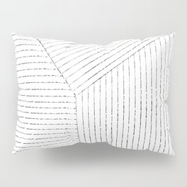 Lines Art Pillow Sham