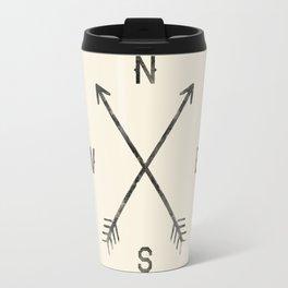 Compass (Natural) Travel Mug