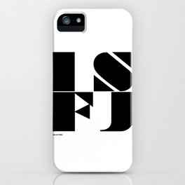 Type Type for ISFJ iPhone Case