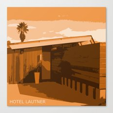 Hotel Lautner Canvas Print