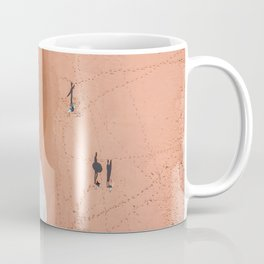 Surf Footprints Coffee Mug