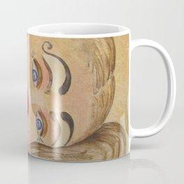 Ficelle à l'aquarelle, clown Coffee Mug