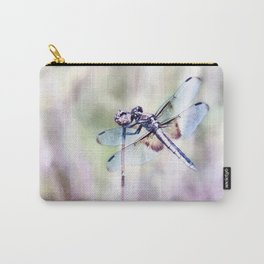Dragonfly in Pastels Carry-All Pouch