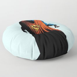super man Floor Pillow