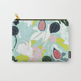 fig rabbit & leaves Carry-All Pouch