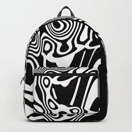 Tiki Totem Tribal Print Backpack