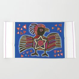 Panama Molas Beach Towel