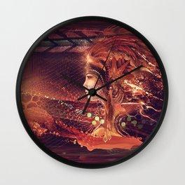 Shadow of a Thousand Lives - Visionary - Manafold Art Wall Clock