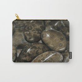 Fossilized Coral Carry-All Pouch