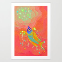 The sunshine Art Print