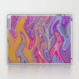 Colorful Lava Flow Laptop & iPad Skin