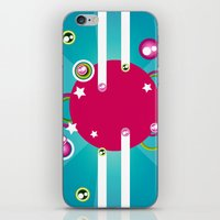 disco iPhone & iPod Skins featuring Disco by Kaissa Kkaissa