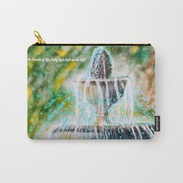 Fount of Blessings Carry-All Pouch