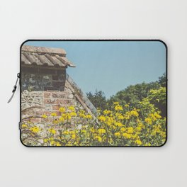English Walled Garden High Summer Laptop Sleeve