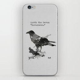 Nevermore iPhone Skin