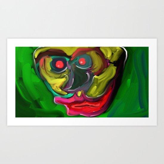 Big Lips Art Print