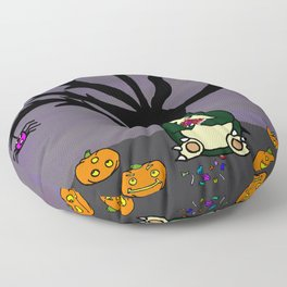 Halloween Munchies Floor Pillow