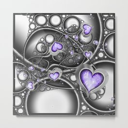 Heart Of The Machine Metal Print