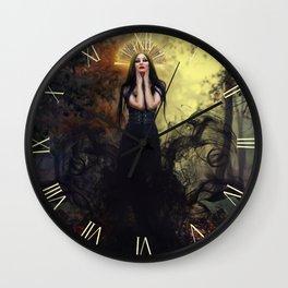 Djinn Priestess Wall Clock